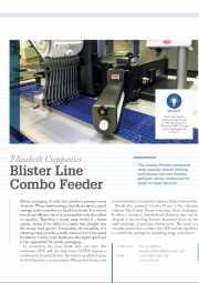 Blister Feeder - Tech Profile